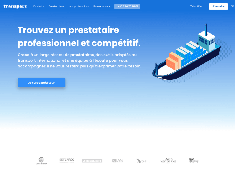 Transpare Marketplace